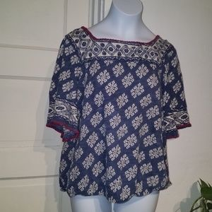 Lucky brand small blouse